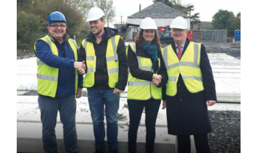 Construction Of Crematory Shannon Started